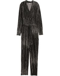 fcfbfe0e7f1 Lyst - H M + Jumpsuit in Black