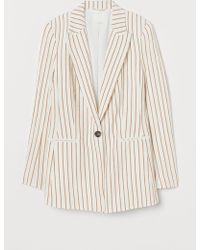 H&M - Single-breasted Jacket - Lyst