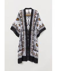 H&M Gemusterter Kimono