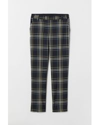 H&M Pull-on Cigarette Trousers - Black