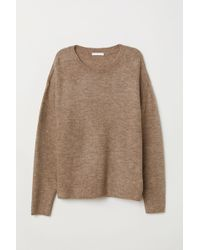 H&M - Knit Sweater - Lyst