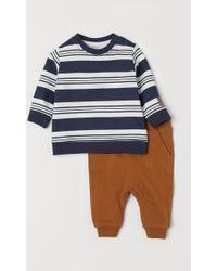 H&M - Sweatshirt And sweatpants - Lyst