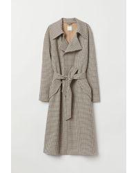 H&M - Trenchcoat - Lyst