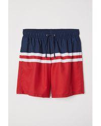 H&M - Knee-length Swim Shorts - Lyst