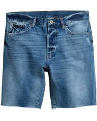 H&M - Jeansshorts - Lyst