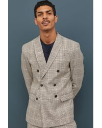 H&M - Slim Fit Blazer - Lyst