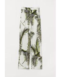 H&M - Weite Jerseyhose - Lyst