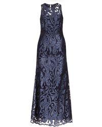 Hobbs - Navy Lace 'gabrielle' Maxi Dress - Lyst