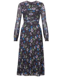 Hobbs - Passionflower Midi Dress - Lyst