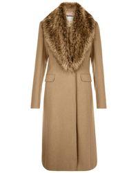 Hobbs - Alba Wool Coat - Lyst