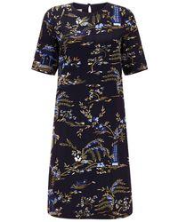 Hobbs - Pagoda Dress - Lyst