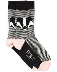 Hobbs - Badger Sock - Lyst