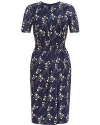 Hobbs - Delilah Pleat Dress - Lyst
