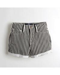 Hollister - Girls Ultra High-rise Denim Short-shorts From Hollister - Lyst