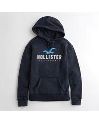 Hollister - Tie-dye Logo Graphic Hoodie - Lyst