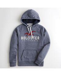 14c874b7 Lyst - Hollister Guys Fleece Jogger Pants From Hollister in Blue for Men