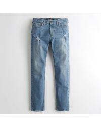 Hollister - Guys Epic Flex Slim Straight Jeans From Hollister - Lyst