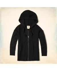 Hollister | Full-zip Hooded Sweater | Lyst