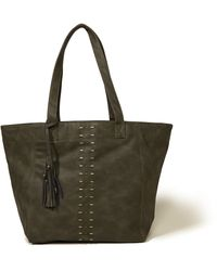 Hollister - Vegan Leather Tassel Tote Bag - Lyst