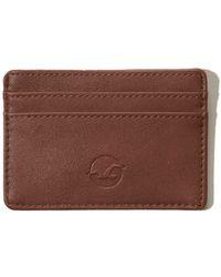 Hollister - Vegan Leather Cardholder - Lyst