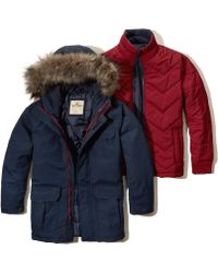 Hollister - 3-in-1 Nylon Parka - Lyst