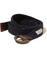 Hollister - Patterned Fabric Belt - Lyst