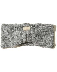 Hollister - Knotted Knit Headband - Lyst