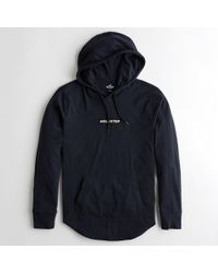 Hollister - Guys Logo Hooded Graphic Tee From Hollister - Lyst
