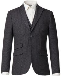 Racing Green | Men's Lupin Grey Puppytooth Jacket | Lyst
