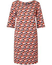 James Lakeland - Printed Shift Dress - Lyst