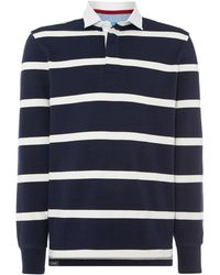 Howick | Hockney Striped Rugby Shirt | Lyst