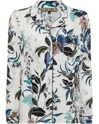 Biba - Oriental Floral Print Pj Top - Lyst
