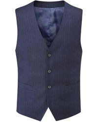 Skopes - Jennings Stripe Suit Waistcoat - Lyst