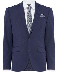 Kenneth Cole - Men's Paramount Slim Fit Mouline Panama Suit Jacket - Lyst