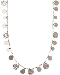 Nine West - Strand Neckalce - Lyst