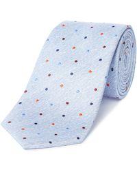 Richard James | Multi Spot Silk Tie | Lyst