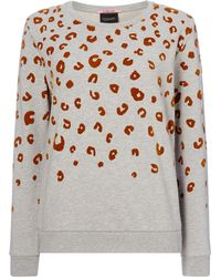 Maison Scotch - Leopard Relaxed Fit Sweat - Lyst