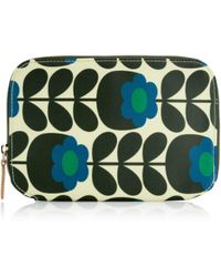Orla Kiely - Primrose Jade Print Make Up Brush Case - Lyst