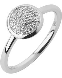 Links of London - Diamond Essentials Pave Ring - Ring Size L - Lyst