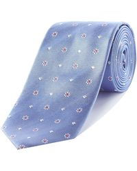Richard James - Neat Silk Tie - Lyst