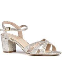 Paradox London Pink - Colette Wide Fit Ankle Strap Sandals - Lyst