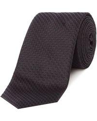 HUGO - Star Jacquard Tie - Lyst