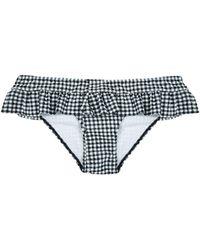 Jane Norman - Gingham Bikini Brief - Lyst