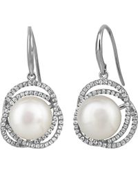 Jersey Pearl - Freshwater Pearl Earrings - Lyst