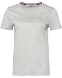 Tommy Hilfiger   Tommy Embossed Short Sleeve Tee   Lyst
