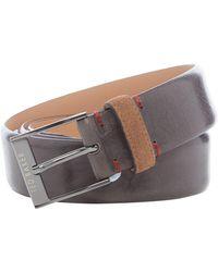 Ted Baker | Pests Leather Belt | Lyst