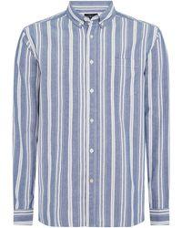 Howick - Men's Ashling Striped Shirt - Lyst