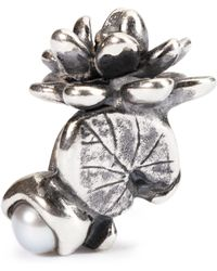 Trollbeads - Water Lilies Of July Bead - Lyst