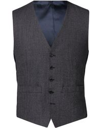 Alexandre Of England - Stratton Charcoal Jaspe Tailored Jacket - Lyst