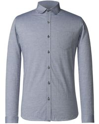 Gibson - Men's Blue Penny Round Shirt - Lyst